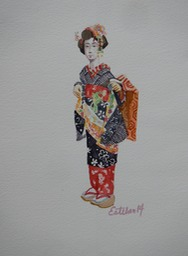 Geisha in Training 1  7x9