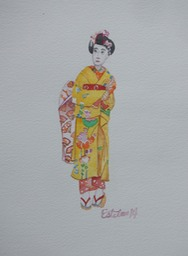 Geisha in Training 2  7x9