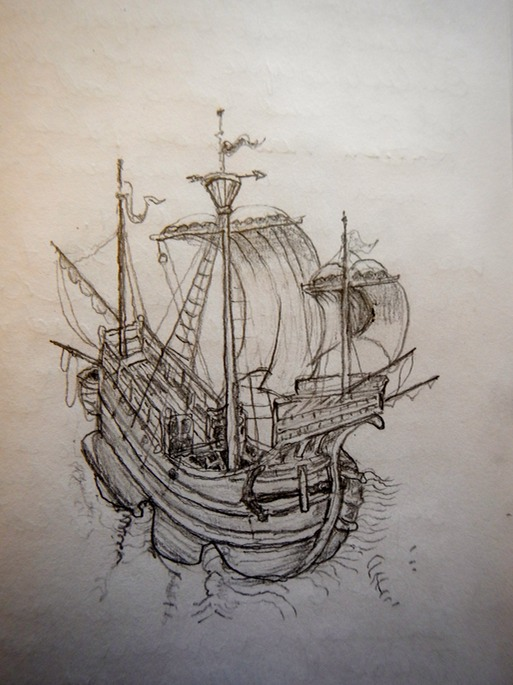 Ship Etching, Chicago