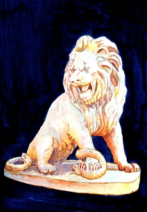 Dolmabahce Lion