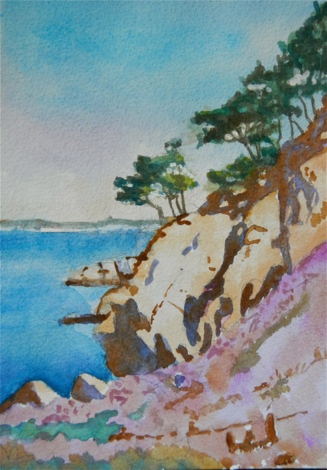 Point Lobos  7x9