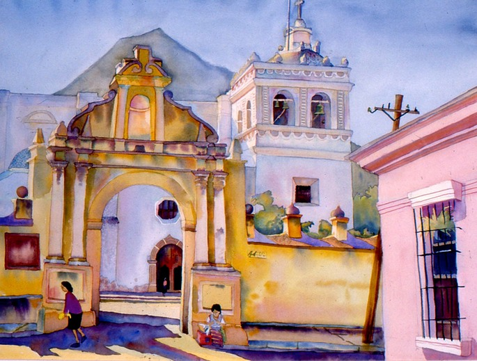 Antigua Cathedral  30x22