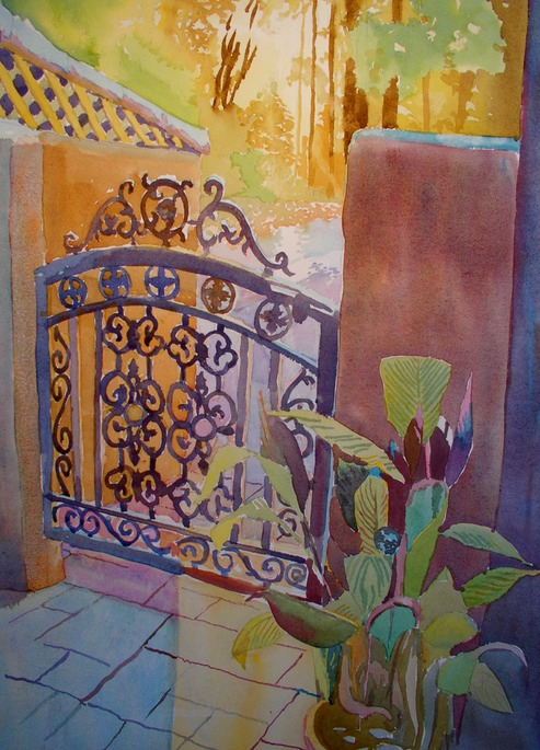 The Front Gate  14x20