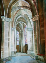 Chartre Cathedral  14x20